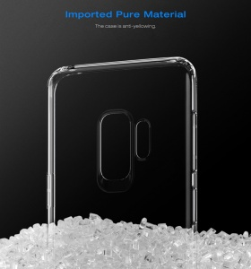 Ốp dẻo trong suốt Baseus Simple Case Galaxy S9 Plus